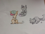 Cats Adopted From freddykittens by icyfrostcats