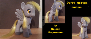 Derpy Hooves - Custom Made by CelestPapermoon
