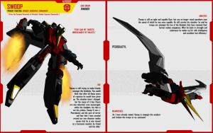 DINOBOT SWOOP by F-for-feasant-design