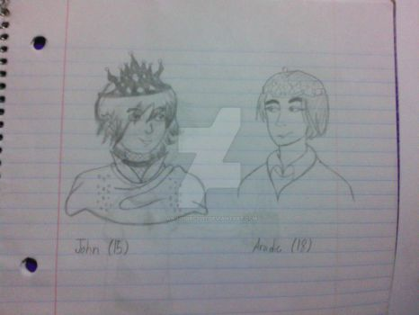 John and Aradic by Animegirl2017