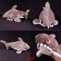 Shaun the Shaky Shark OOak by Undead-Art