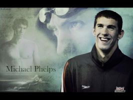 Michael Phelps by ORIPIANO