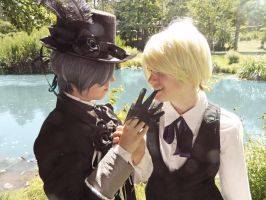 Black Butler - It Is Only You I Desire by ember-ablaze