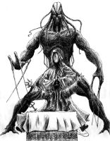 Nyarlathotep by neurotoxine