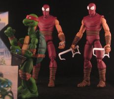 NECA ish styled Foot Soldiers TMNT by plasticplayhouse
