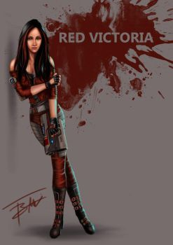 Red Victoria by blackragemadness