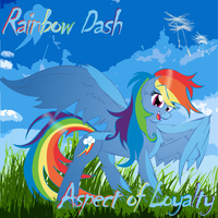 Rainbow Dash: Aspect of Loyalty by Big-Mac-a-Brony