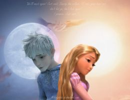 The love story of the  Moon and Sun by Milady666