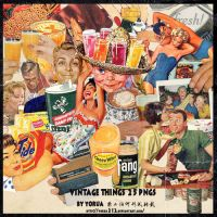 vintage things 25pngs_by yorua by YORUA212