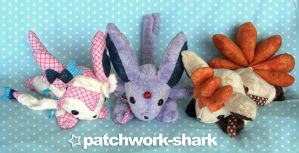 Patchwork Pokemon by Patchwork-Shark
