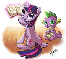 Twilight's book by Adlynh