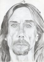 Iggy Pop by gab3alex