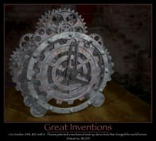 Gear Clock by jsgknight