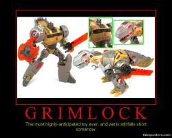 Grimlock Toy by Onikage108