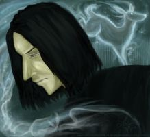 Severus Snape: Always by antler-girl