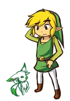 PC: Verios and Link by Linkerbell