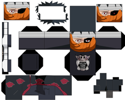 Obito Broken Mask by hollowkingking