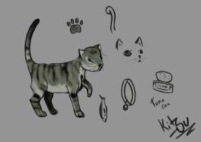 Doodling and sketching cat Stuff by Kitsu-DR