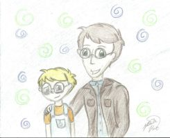Like father like son by TheHappydreamer