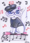 Jazz funny cat by KingZoidLord