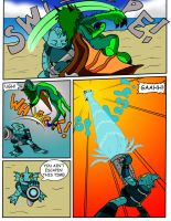 Commission: Serpenna and the Skylanders pg 5 by oogaboogaz