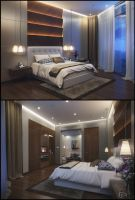 Hotel Project - Junior Suite by kulayan3d