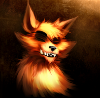 Eyeless Foxy by Keitronic