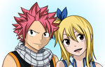 Natsu and Lucy by AnimeRegime