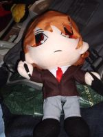 Yagami Light Plushie Outfit by snowtigra