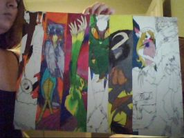 Incomplete Sin work 2 by Caryin