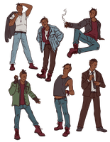 Alan Outfits by AnnieDraws