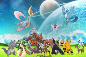 pokemon in another world by laila549