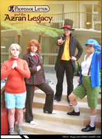 Professor Layton and the Azran Legacy COSPLAY by KatyMerry