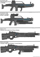 Military Weapon Variants 33 by Marksman104