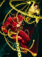 Injustice BARRY VS HAL by sherrill018