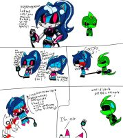 about the cord tail XD by queenmafdet