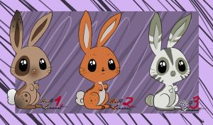 Bunny Adopts (closed) by iheartart132