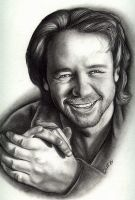 Russell Crowe by Rvaya