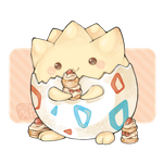 110324. togepi by Plipkat