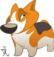 Corgi by goldhound