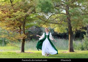 Forest maiden - Stock Model Reference 12 by faestock