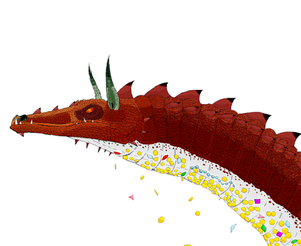 Smaug the Golden by Mikartturi