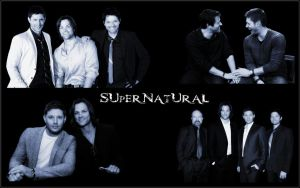 SPN Cast Collage by debzb17
