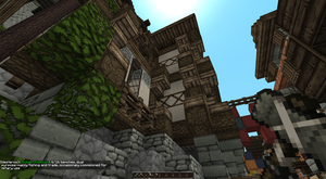 Westeros_Inside King's Landing in Minecraft by Black-Feather