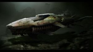 combat submarine by ldimonl