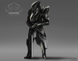 WARFRAME CONCEPT ART: AXZAVIOR by nobody00000000