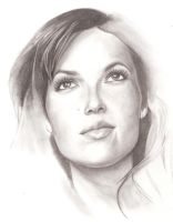 Mandy Moore by sketchehz