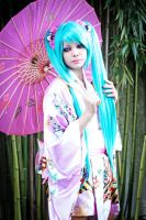 VOCALOID Hatsune Miku Cosplay - Kelly Hill Tone by KellyHillTone