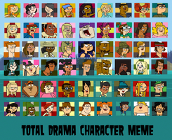 Total Drama Character Rankings by TheDipDap1234