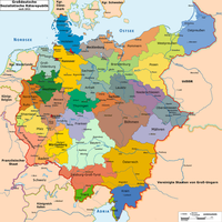 Greater German Socialist Council Republic Map by TiltschMaster